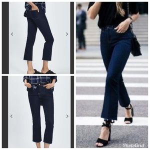 Topshop Moto Tally Crop Jeans